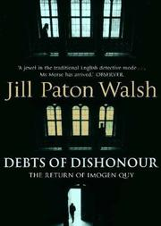 Cover of: Debts of Dishonour the Return of Imogen Quy