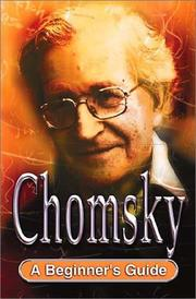 Cover of: Chomsky