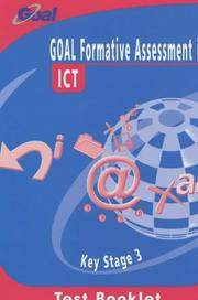 Cover of: GOAL Formative Assessment in Key Stage 3 ICT