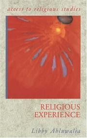 Cover of: Religious Experience (Access to Religious Studies) | Peter Cole