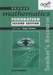 Cover of: Hodder Mathematics Foundation (Hodder Mathematics) | Catherine Berry