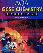 Cover of: Aqa Gcse Chemistry Additions (Aqa Gcse Science)