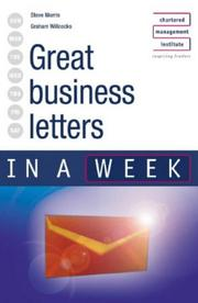 Cover of: Great Business Letters in a Week (In a Week)
