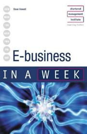 E-Business in a Week (In a Week)