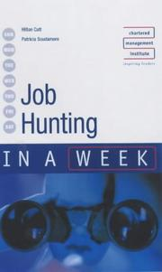 Cover of: Job Hunting in a Week (In a Week) | Pat Scudamore