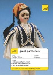 Cover of: Teach Yourself Greek Phrasebook