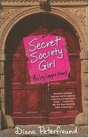 Cover of: Secret Society Girl