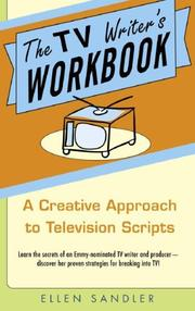Cover of: The TV writer's workbook