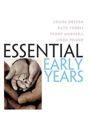 Cover of: Essential early years