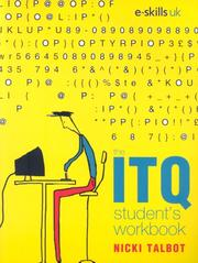 Cover of: Itq Student's Workbook