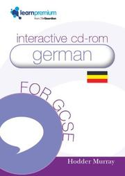 Cover of: Gcse German