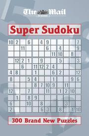 "Cover of: The ""Mail on Sunday"" Supersudoku (Mail on Sunday)"