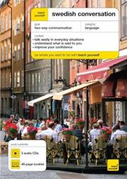 Cover of: Teach Yourself Swedish Conversation