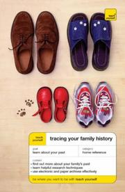 Cover of: TRACING YOUR FAMILY HISTORY