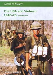 Cover of: The USA & Vietnam 1945-75