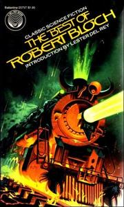 Cover of: The best of Robert Bloch