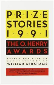 Cover of: Prize Stories 1991