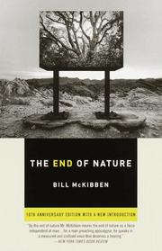 Cover of: The End of Nature
