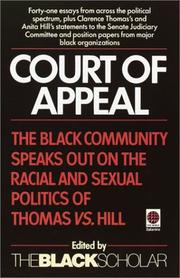 Cover of: Court of Appeal