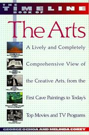 Cover of: The timeline book of the arts