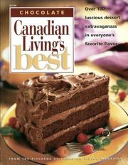 Cover of: CHOCOLATE.  Canadian Living's Best