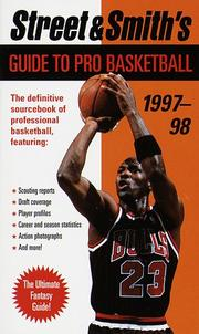 Cover of: Street & Smith's Guide to Pro Basketball 1997-98