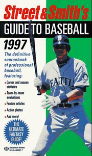 Cover of: Street & Smith's Guide to Baseball 1997 (Street and Smith's Guide to Baseball)