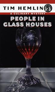 Cover of: People in Glass Houses (Culinary Mysteries