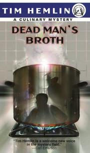 Cover of: Dead man's broth