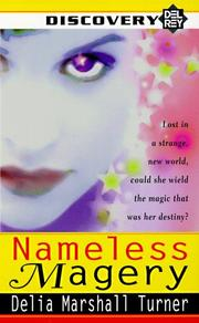 Cover of: Nameless Magery (Del Rey Discovery)