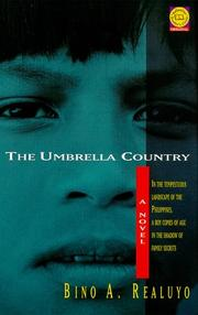 Cover of: The umbrella country