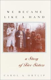 Cover of: We Became Like a Hand