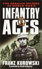 Cover of: Infantry Aces | Franz Kurowski