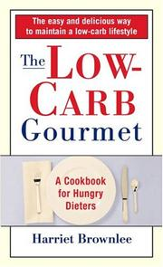 Cover of: The Low-Carb Gourmet