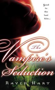 Cover of: The Vampire's Seduction