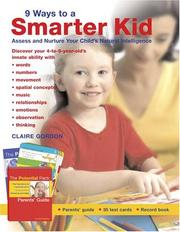 Cover of: 9 Ways to a Smarter Kid | Claire Gordon