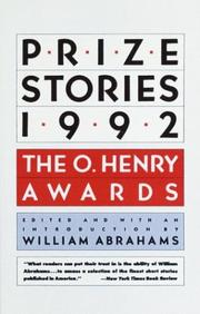 Cover of: Prize Stories 1992