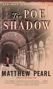 Cover of: The Poe Shadow | Pearl, Matthew
