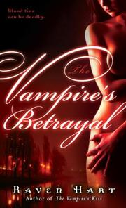 Cover of: The Vampire's Betrayal