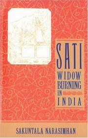 Cover of: Sati - Widow Burning in India
