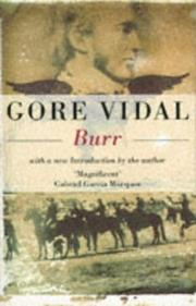 Cover of: Burr (Narratives of a Golden Age)