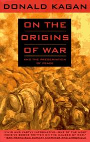 Cover of: On the Origins of War: And the Preservation of Peace