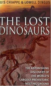 Cover of: THE LOST DINOSAURS