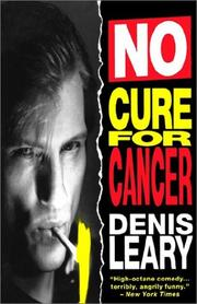 Cover of: No cure for cancer