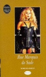 Cover of: Rue Marquis De Sade