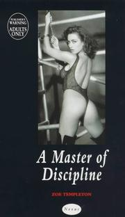 Cover of: A Master of Discipline
