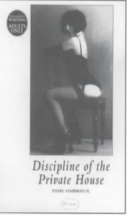 Cover of: Discipline of the Private House