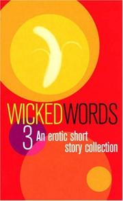 Cover of: Wicked Words 3 | Kerri Sharp