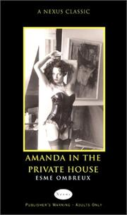 Cover of: Amanda in the Private House