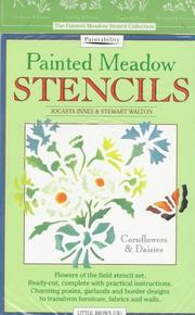 Cover of: Painted Meadow Stencils | Jocasta Innes